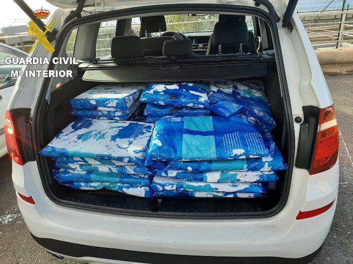 450 kilos de pechugas de pollo intervenidas por la Guardia Civil