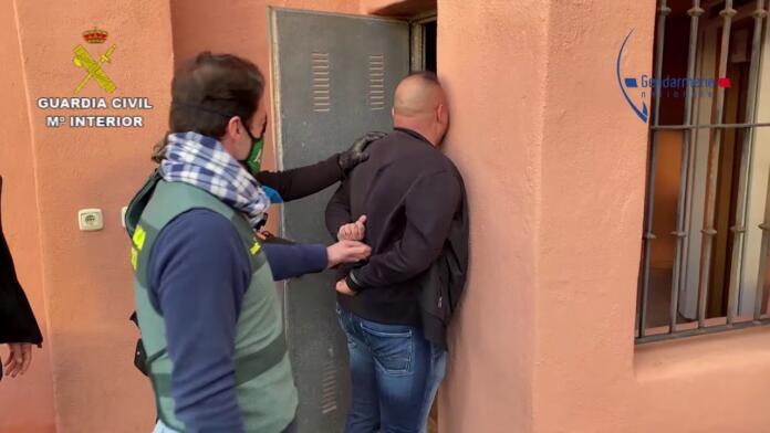 Detenido en Málaga el líder de una de las organizaciones criminales más activas del noreste de Francia
