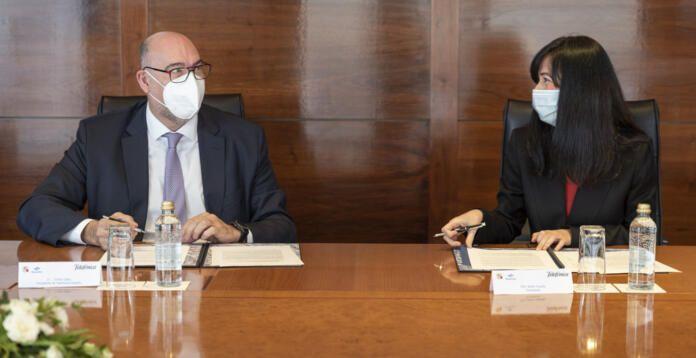 Telefónica y Navantia desarrollarán proyectos de ciberseguridad para la defensa y el sector naval