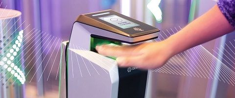 MorphoWave, escáner biométrico sin contacto de Idemia
