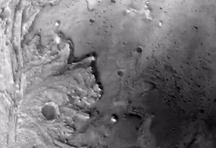 Las imágenes que usó Perseverance para llegar con seguridad a Marte