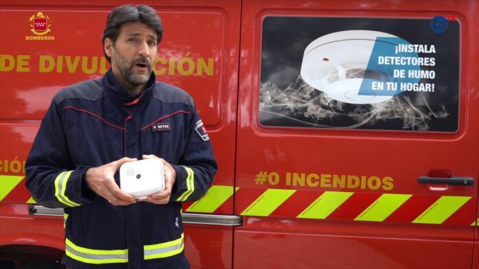 Por qué hay que instalar detectores de humo en casa. Videoconsejos de los Bomberos