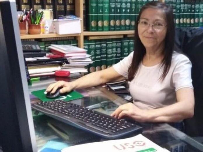 Marisa Pérez, de USO ,habla de la huelga del SEPE