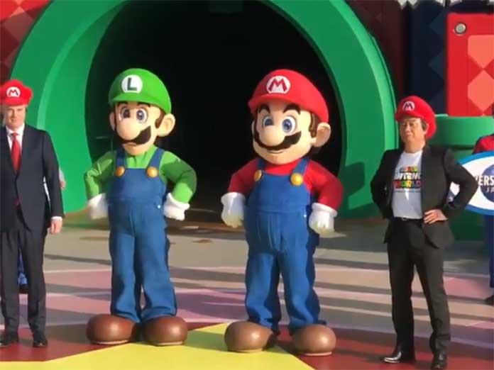 Inauguración de Super Nintendo World