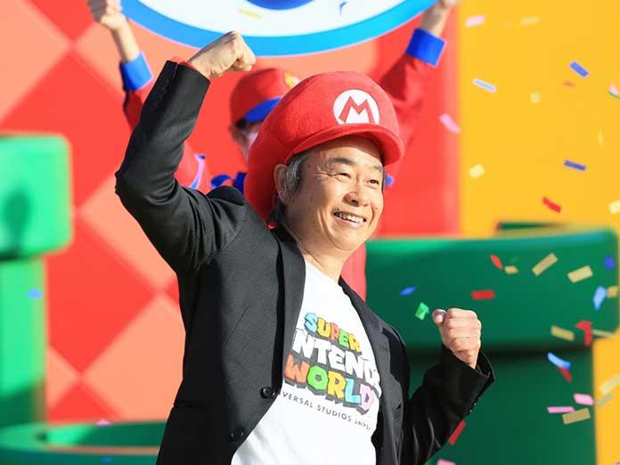 Shigeru Miyamoto, el creador de Mario Bross ha inaugurado Super Nintendo World