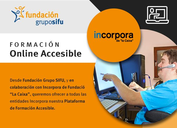 Acuerdo entre la Fundación 'la Caixa' y la Fundación Grupo SIFU para impulsar la integración laboral de las personas discapacitadas