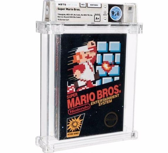 Una extraña versión de Super Mario Bros. vendida en subasta por 660.000 dólares