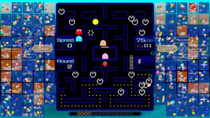 Pac-Man se convierte en un 'battle royale' en línea de 99 jugadores en el nuevo Pac-Man 99