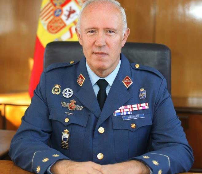Luis Mauriño, Coronel del Ejército del Aire