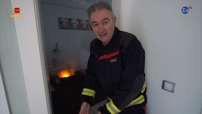 Cómo protegerte del fuego (y del humo) en una habitación
