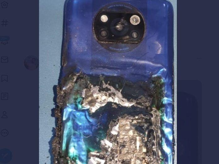 Un móvil de Poco, el X3, ha explotado en India, según un usuario