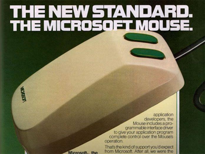 Primer ratón de Microsoft