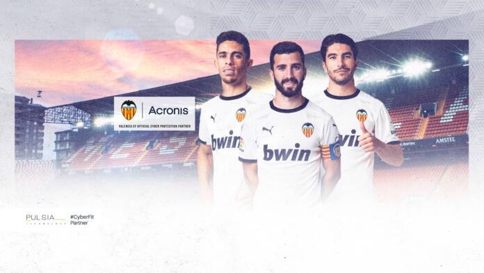 Valencia CF acuerdo Acronis