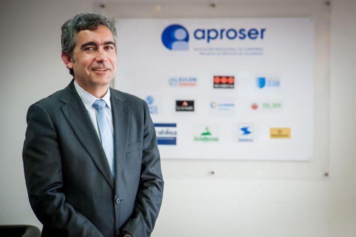 Eduardo Cobas, secretario general de Aproser