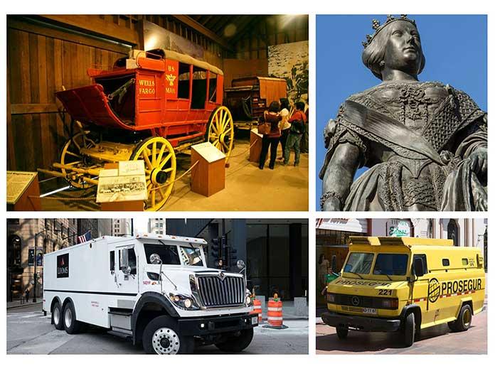 Historia del transporte del dinero en efectivo