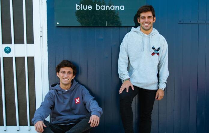 Los fundadores de Blue Banana Brand