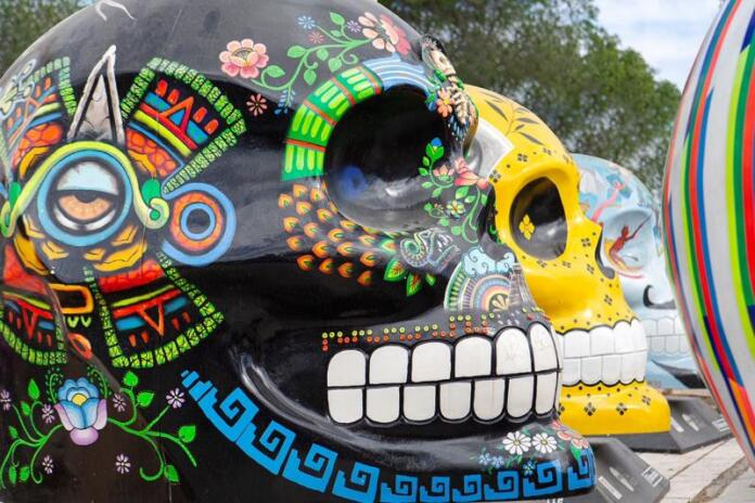 """La riqueza de la cultura funeraria mexicana, al descubierto en la exposición """"Mexicráneos"""""""