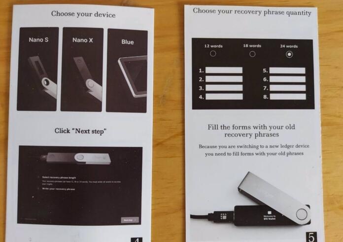 Unos estafadores intentan robar criptomonedas enviando monederos físicos falsos a los usuarios