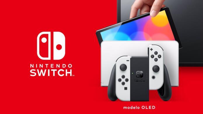 Nintendo presenta su consola hibrida Nintendo Switch Oled