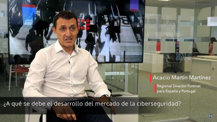 """Acacio Martín (Fortinet): """"La ciberseguridad es un pilar de cualquier negocio o empresa"""""""