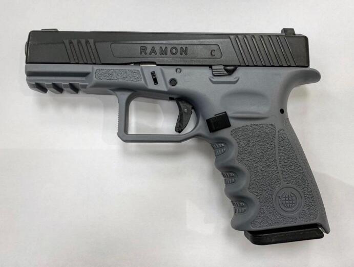 Pistola Ramon, de la empresa israelí EMTAN