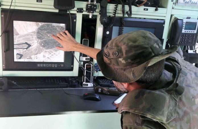 Así es el sistema digital de mando y control que revolucionará la comunicación del ejército español en el campo de batalla
