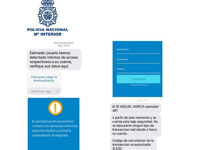 La policía alerta de una sofisticada modalidad de fraude bancario