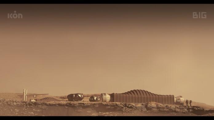 Así es el chalet diseñado para vivir en Marte: la Nasa busca voluntarios
