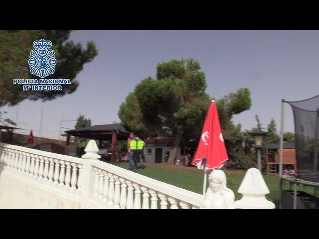 La Policía Nacional desmantela una granja ilegal de minería de criptomonedas en un chalet de Toledo