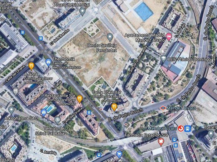 Abortada la construcción de una Embajada Americana en Mérndez Álvaro