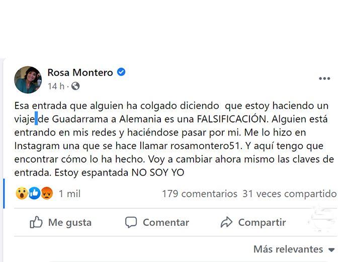 Hackeo Rosa Montero