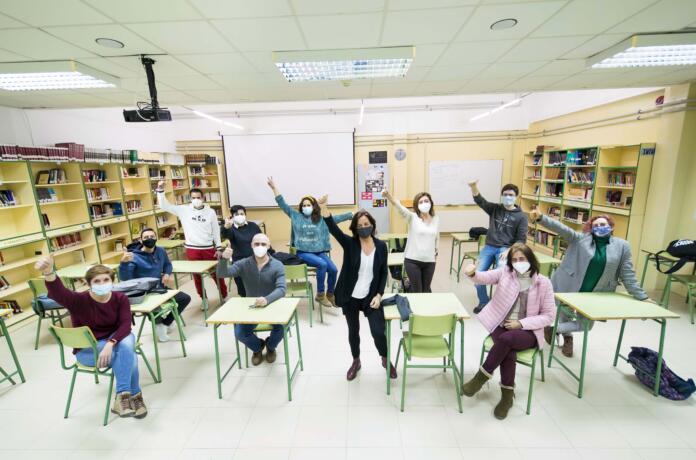 Equipo docente que participó en la 1ª edición del programa Liderazgo para el Aprendizaje de EduCaixa