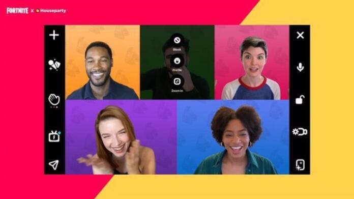 Aplicación de videollamadas Houseparty