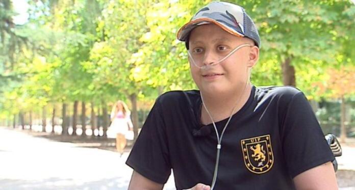 Hug, joven de 17 años fallecido en septiembre de 2021 de un cáncer terminal