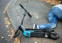 accidente mortal patinete