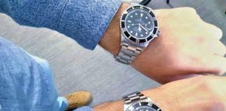reloj de lujo y falsificado Rolex
