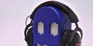 Fantasma del comecocos para guardar tus auriculares