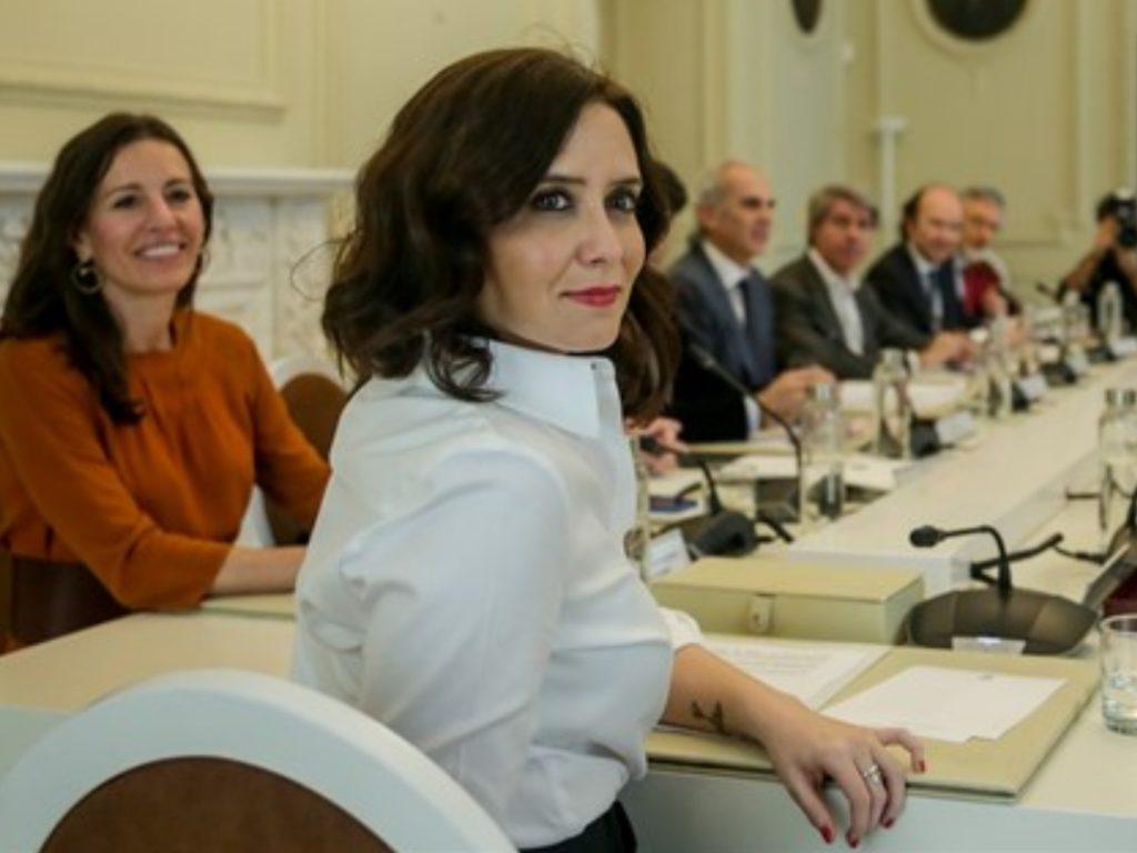 presidenta Comunidad de Madrid