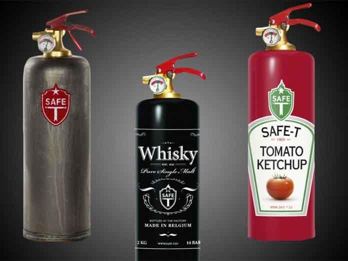 Los extintores más bonitos del mundo