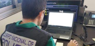 policía ciberdelincuencia