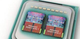 El primer procesador de cuatro núcleos, el Intel Core 2 Duo