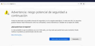 La Web de la DGT puede estar siendo hackeada