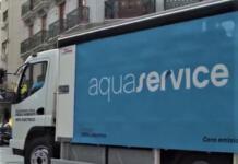 Aquaservice camión eléctrico