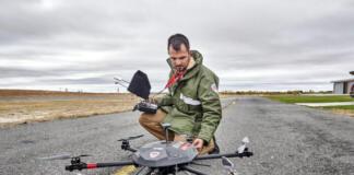 Servicio de Aerovigilancia que usa sistemas aéreos no tripulados de EULEN Seguridad