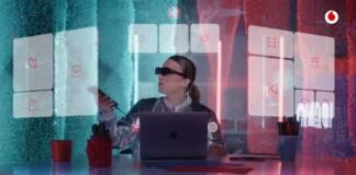Vodafone gafas de realidad aumentada NReal Light
