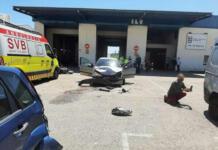 Accidente en una ITV de Valencia