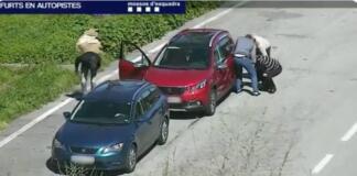 Robo en vehículos