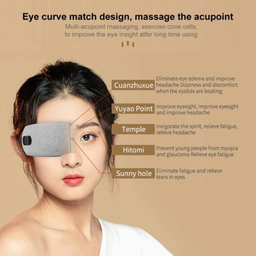 Puntos claves del masajeador de ojos